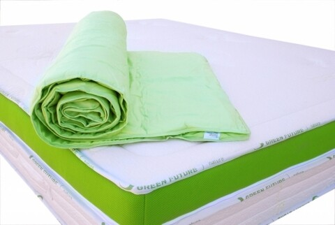 Nature Mattress Protector 90x200 Green - Bamboo