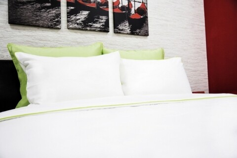 100% Bamboo bed linen White 2 person
