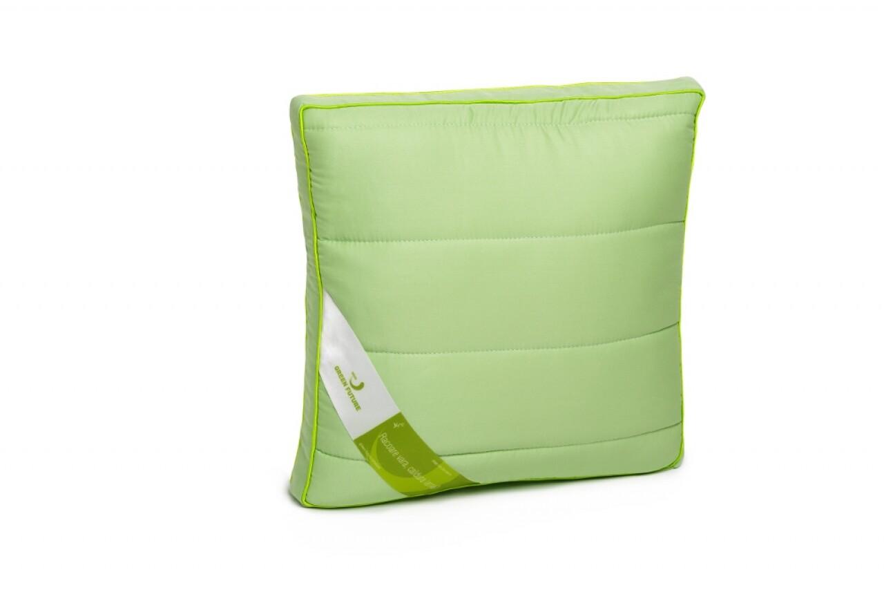Nature Bamboo Pillow 37x37 Green