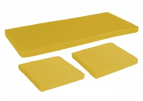 Set 3 Perne Bedora Summer Mustard Yellow