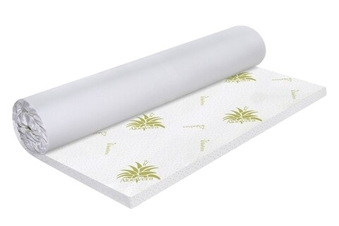Topper saltea Green Future Aloe Vera Free Air Memory 80x190 cm