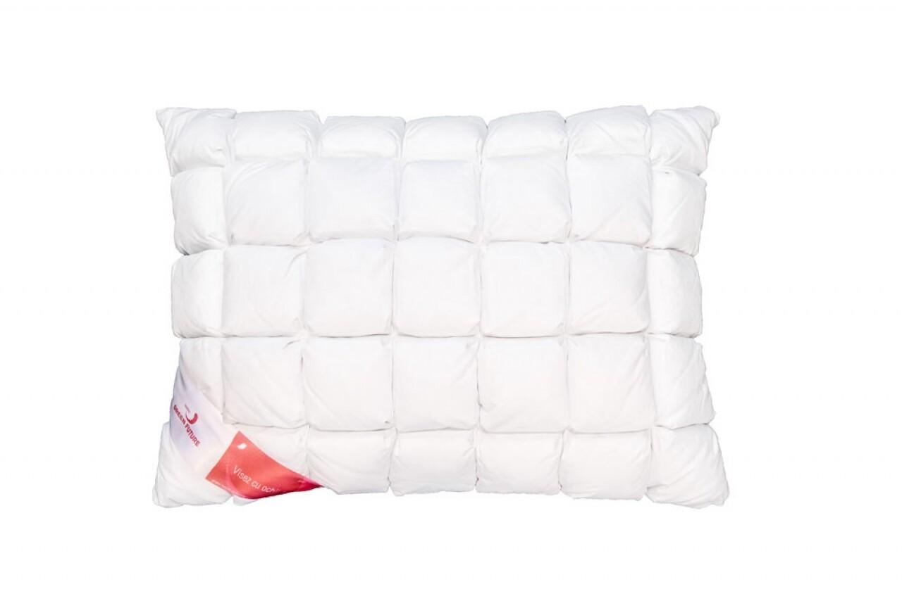 Feeling 100 Honeycomb Pillow 50x70 - Goose down 100%