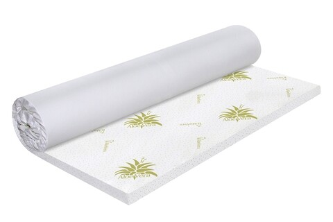 Topper saltea Green Future Aloe Vera Free Air Memory 120x190 cm